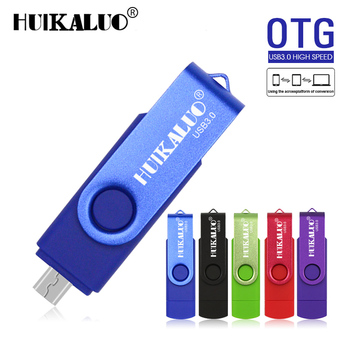 USB Flash Drive 2018 Swiveling clip USB Stick 128GB OTG USB 3.0 Pendrive High speed 64G 32G 16G 8G Metal USB flash disk USB-флеш-накопитель