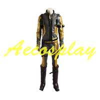 Custom Made Shooting Game Cosplay Costume OW Soldier 76 Adult Men Carnival Cosplay Costume D0701 Gold Version