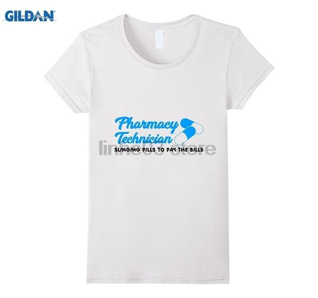 bead350a GILDAN Funny Pharmacy Technician Pills To Pay Bills Gift Shirt Mother's Day  Ms. T-shirt