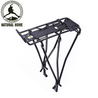 NaturalHome Brand Outdoor MTB Rack 25KG Aluminum Alloy Mountain Bike Shelf Cycling Back Seat Bicycle