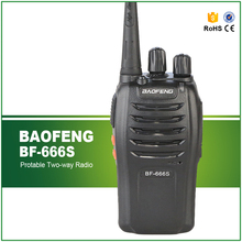 BAOFENG BF 666S UHF 400-470MHz Professional Portable Two Way Radio Mini Walkie Talkie