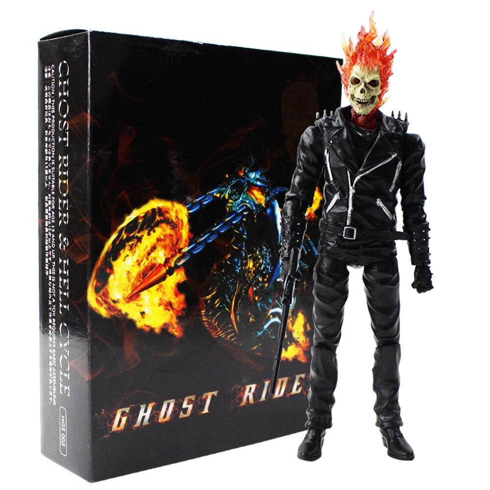 Marvel Ghost Rider Johnny Blaze PVC Action Figur Figuren Sammlung Modell mit box