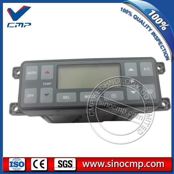 Dx225 dx140 두산 굴삭기 에어컨 컨트롤 패널 543-00107, ac 컨트롤러