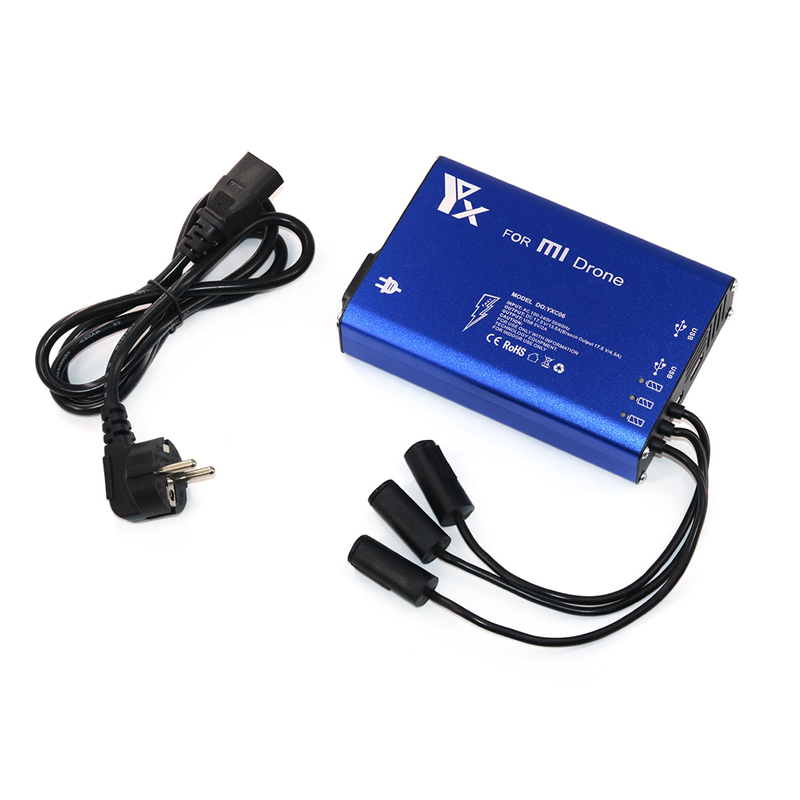 Xiao mi Drone RC Quadcopter helicopter 4k camera Spare Parts 3 in 1 Battery and Transmitter Charger For Xiaomi Drone Parts lipo battery 7 4v 2500mah for mjx f45 f645 t23 rc parts helicopter battery can add 3in1 charger f45 22 extra spare toys
