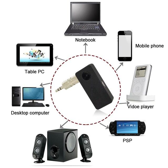 B3503 Автомобилей-В Авто Главная Bluetooth V3.0 Музыка RCA 3.5 мм Стерео Аудио HiFi УСИЛИТЕЛЬ Приемник Адаптер Dongle A2DP для Динамик Универсальный