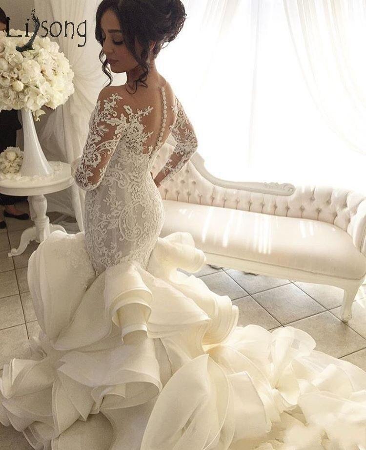 conew_plus-size-2017-fashion-mermaid-wedding-dresses (2)