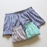 Sleep bottoms men short A183 home wear spring summer autumn solid cotton