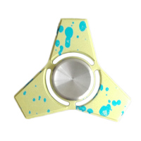 2017 New Fidget Hand Tri Spinner Toys Camouflage Aluminum Alloy For Adult Fidget Hand Tri Spinner