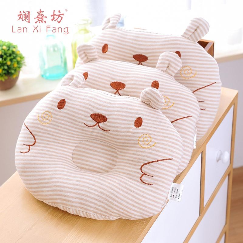 Cojín infantil Almohada bebé de algodón Animal de dibujos animados - Ropa de cama