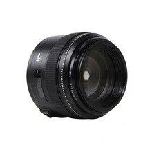 Yongnuo 85mm f1.8 prime Lens for Canon EOS EF Mount SLR Cameras medium telephoto lens prime AF and MF Focus Lenses Camers