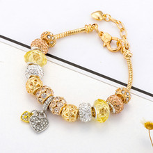 Heart Charm Bracelets & Bangles