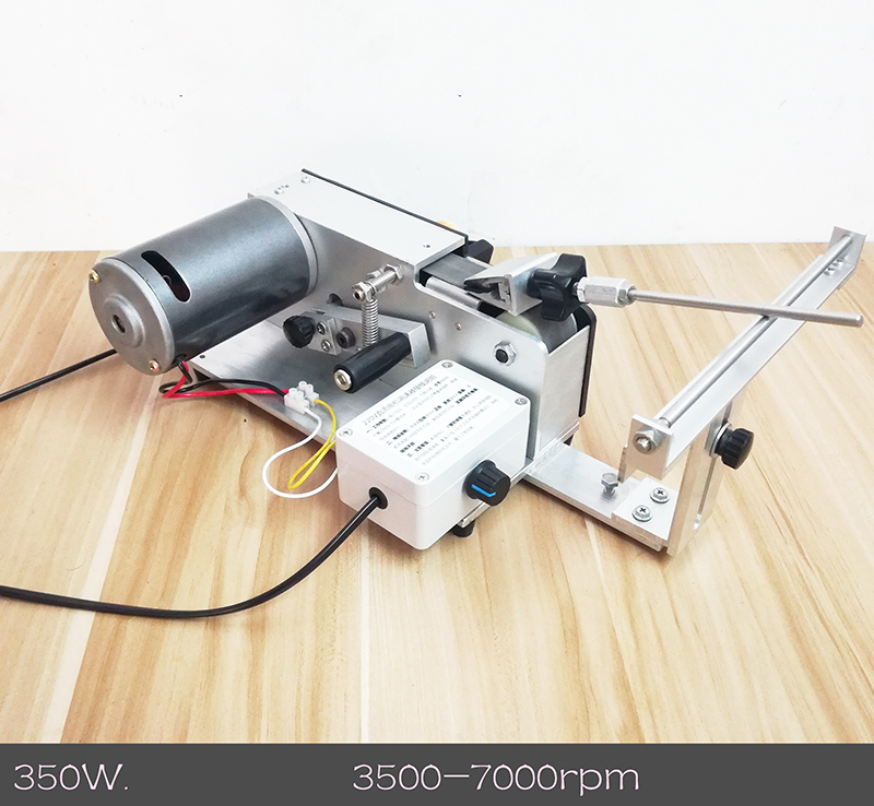 220 v Électrique Professionnel Couteau Apex Bord aiguiseur sable ceinture affûtage machine 350 w 3500-700 rpm Y