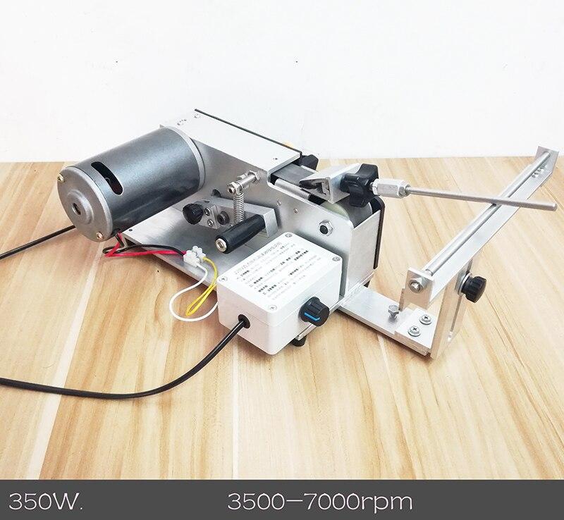 220 v Elettrico Professionale Coltello Apex Bordo temperamatite cintura di sabbia per affilare macchina 350 w 3500-700 rpm Y