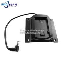 2Pcs/Lot VESA LCD Monitor Power Source Back Mount Cradle Holder Adapter Plate for Canon Battery LP E6 LPE6 LP E6 Battery