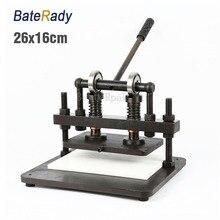 26×16 см двухколесный ручной станок для резки кожи, BateRady фотобумага, ПВХ/EVA лист форма для вырубки, машина для резки кожи