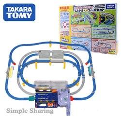 Takara Tomy Plarail Lassen Sie die Zug gehen! Rekombination Action DX Schiene Set 63 stücke