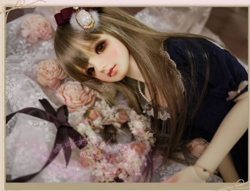 1/4 scale BJD lovely kid BJD/SD sweet cute girl LUTS qi C CHERRY figure doll DIY Model Toys.Not included Clothes,shoes,wig oueneifs bjd clothe sd doll 1 4 clothes girl boy baby long hooded jumpsuit hyoma chuzzl send socks luts volks iplehouse switch