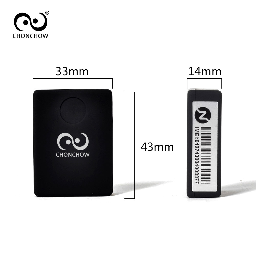 Chonchow Mini Gsm Device N9 Audio Monitor Listening 12 Days Standby Telephone Bug Time Personal Voice Activation Built In 2 Microphone Gps Trackers From