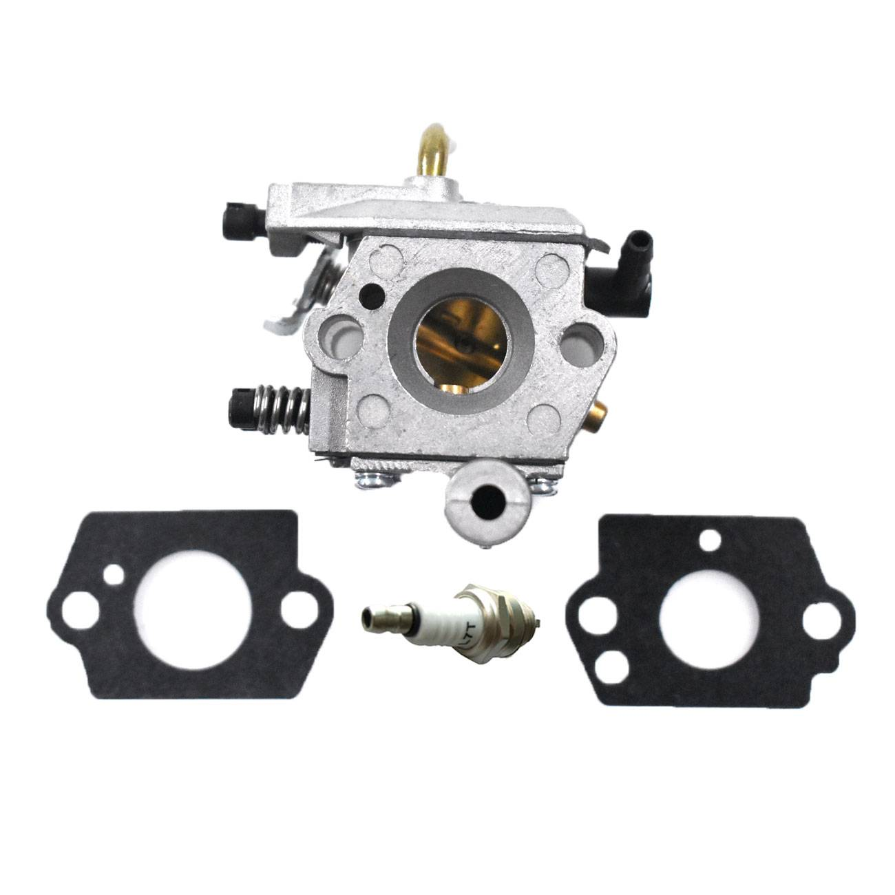 Carburetor Carb & 2*gasket & Spark Plug Fit STIHL 024 026 MS240 260 CHAINSAW