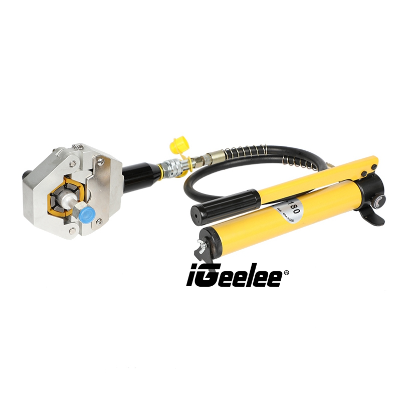 iGeelee Hydraulic-Hose-A-C-Crimping-Tool-With-Manual-Pump (5)