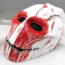 Армейская Стекловолоконная звезда тактическая страйкбольная пейнтбольная маска для лица клоун Череп Страшный костюм вечерние Косплей