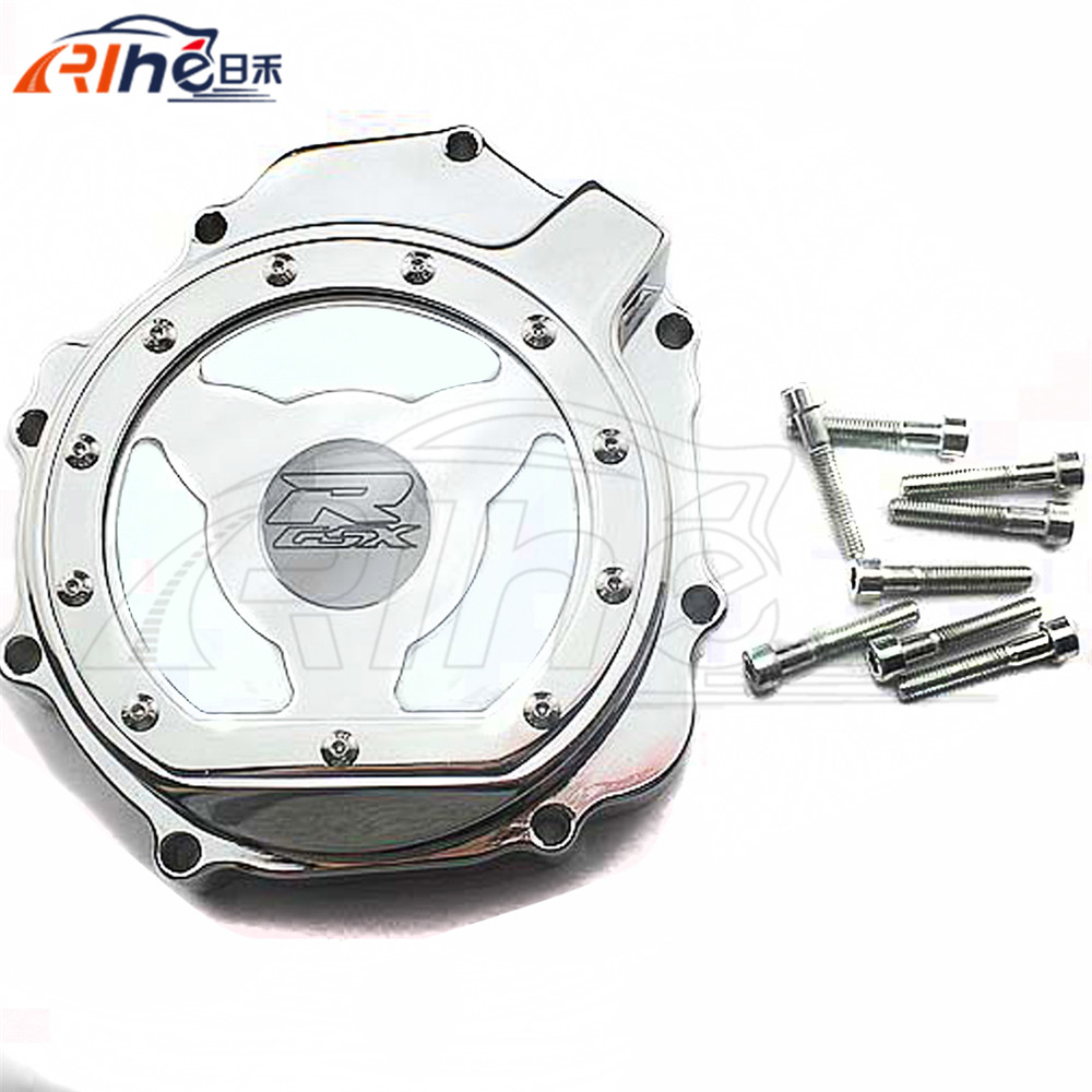 high quality motorcycle chrome engine stator cover motorbike engine stator cover For SUZUKI GSXR1000 K5 K7 2005 2006 2007 2008