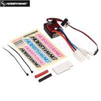 1pcs 100 Original HobbyWing QuicRun 1 10 Brushed 60A QuicRun 1060 60A Electronic Speed Controller ESC