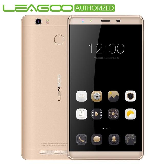 "Original Leagoo Shark 1 6.0"" 4G Smartphone Android 5.1 MTK6753 64bit Octa Core 1.3GHz 3GB+16GB Fingerprint ID 13.0MP Mobilephone"