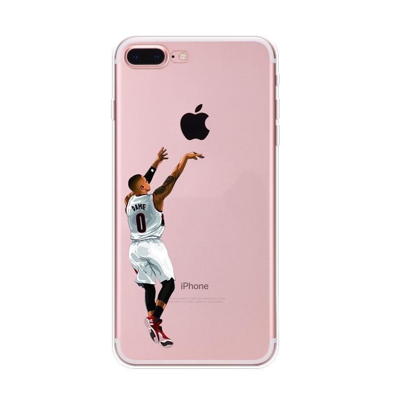 13-NIKIKI-LeBron-James-Kobe-Bryant-di-Pallacanestro-Stella-Del-Silicone-Trasparente-Casse-Del-Telefono-Cover-Per