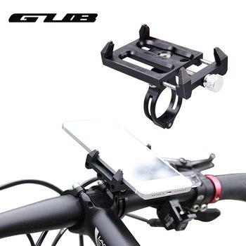 GUB G-83 Anti-Slip Universal Bicycle Phone Holder Mount Bracket For 3.5-6.2inch Smartphone Bike Handlebar Clip Stand