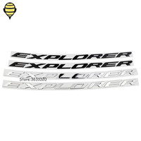 Metal Car Styling 3D Sticker For Explorer Sticker Auto Trunk Rear Emblem Decal Badge For Ford