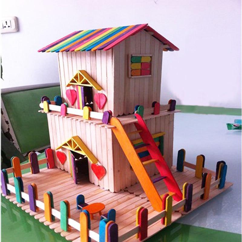 8500 Gambar Rumah Mainan Dari Stik Es Krim Gratis