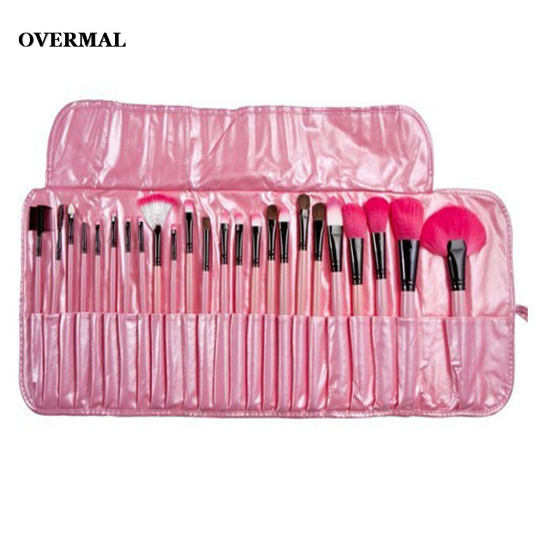 Makeup Brushes Pro 24Pcs Pouch Bag Case Superior Soft Cosmetic Makeup Brush  Set Kit Foundation Power Eyeslink Blush Brushes 2018-in Eye Shadow  Applicator ...