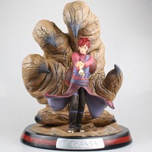 Anime NARUTO Gaara Statue Resin Shukaku sandstorm Scenes Model Toy New Collection Action Figure Toys Birthday Gift 31cm