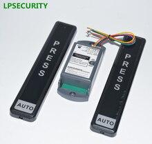 LPSECURITY אוטומטי שער דלת ביתית אלחוטי אלקטרוני מגע מתג מתג פתוח דלת
