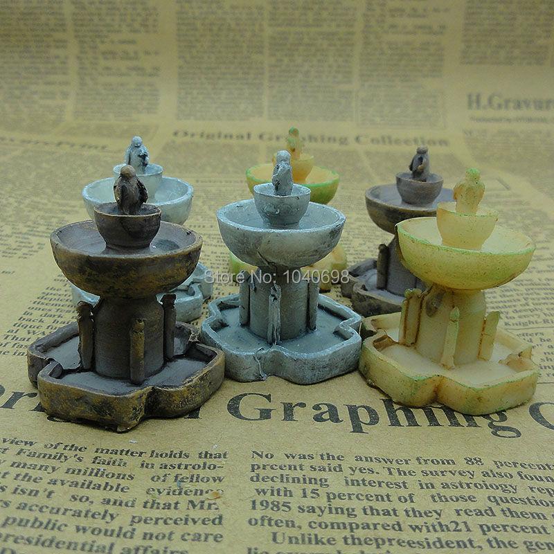 unidslote resina fuente slida mm de hadas gnomo de jardn musgo terrario decoracin