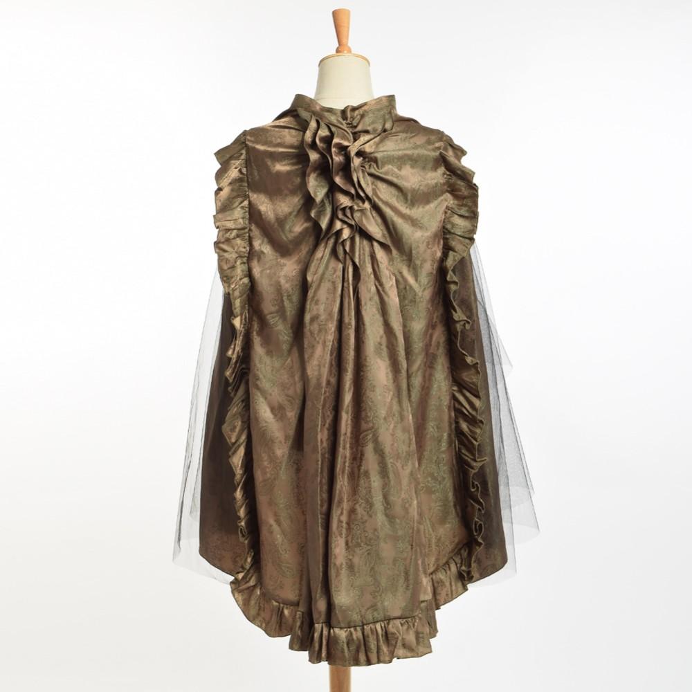 4e316ae3e8 De las mujeres Del Victorian de Steampunk Goth Chartreuse Volante ...
