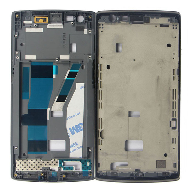 c264712d2c3 For Oneplus one 1+ A0001 Original LCD Front Middle Frame Bezel Assembly  Replacement New High