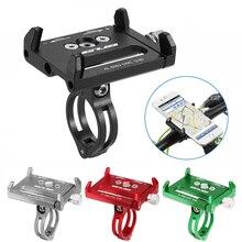 Untoom アルミユニバーサル自転車電話ホルダー自転車オートバイハンドルクリップ 3.5 6.2 インチのスマートフォン用のマウントブラケットスタンド