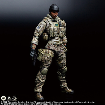Фигурка Солдат по игре Medal of Honor 28 см ПВХ PlayArts