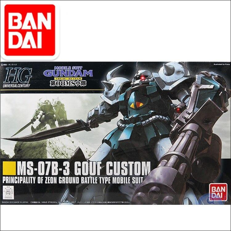 Original Gundam Model MS-07B-3 GOUF CUSTOM Mobile Suit THE ORIGIN GTO Kids Toys With Holder