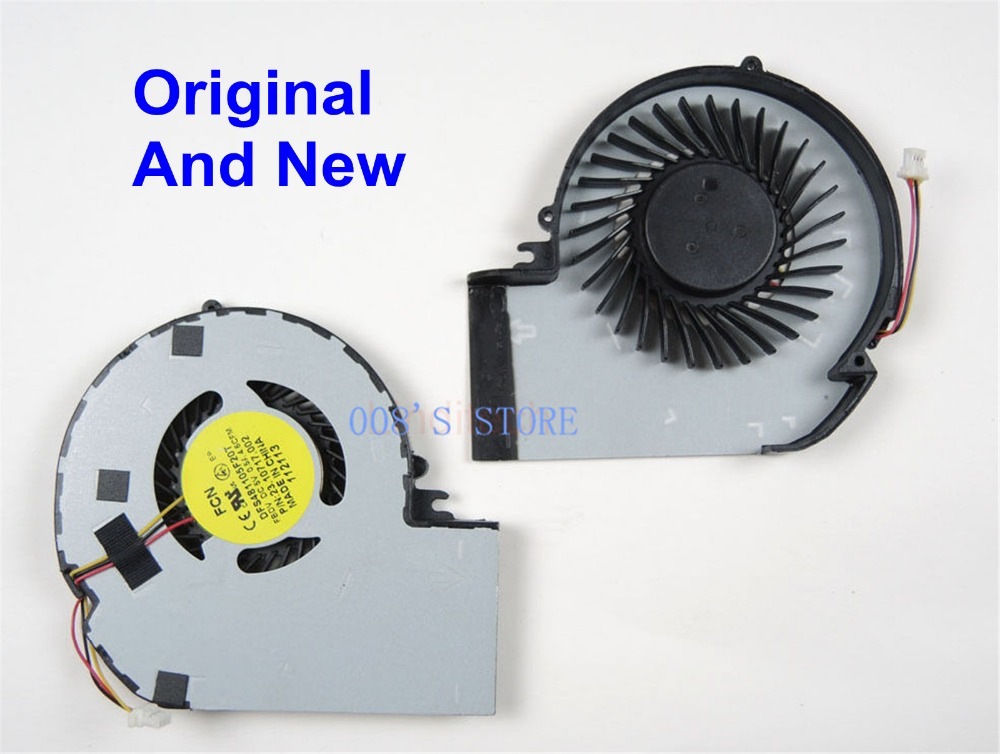 New Notebook CPU Cooling Cooler Fan For Dell Inspiron 15z 5523 By FORCECON DFS481105F20T DC 5V 0.5A DP/N 23.10717.001 Replace