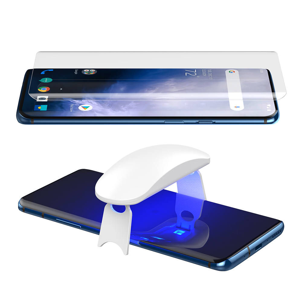 Tempered-Glass Screen-Protector Oneplus UV Full-Glue 7-Pro 5D