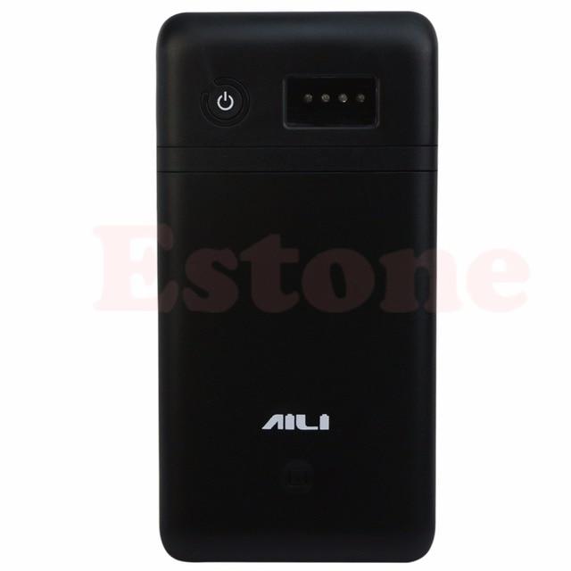 3.6 فولت 5 فولت 6 فولت 9 فولت 12 فولت موبايل قوة البنك صندوق USB 6x18650 شاحن بطارية محول