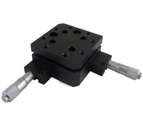 PT-QX04 Two-Axis High Load Tilt Platform, Precise Manual Tilt Stage, Tilt Range: +/- 4 degree pq250 4l two axis tilt platform precise manual tilt stage with two fine adjusting screws pitching 4 yawing 2