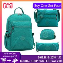 (Buy One Get Four) Casual Back To School Bags Teenage Backpacks for Girl for School Women Laptop Backpack Schoolbag kiple