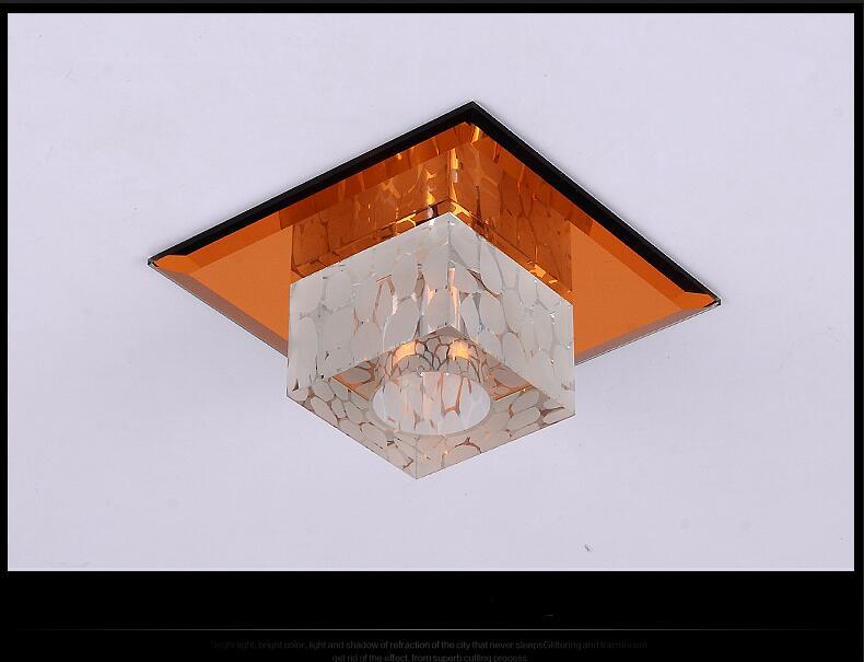 ФОТО new modern minimalist LED corridor aisle lights Ceiling Lights square porch lamp ceiling lamp creative hall lighting