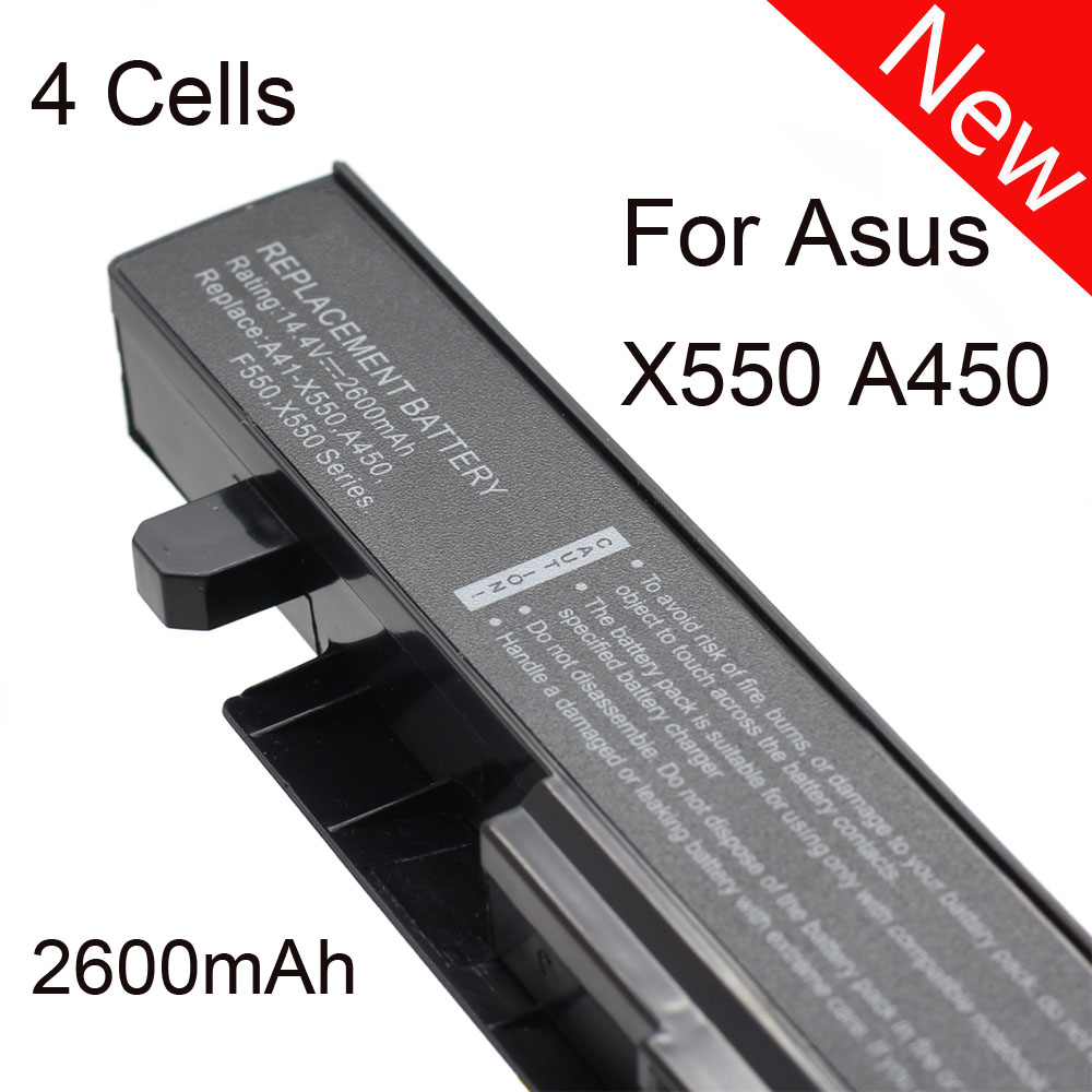 Laptop battery For ASUS A41-X550 A41-X550A A450CA A450C A450L F550VC F552 F552C F552CL F552E K550 P450 R409 X450 X550 HK03