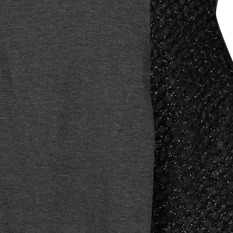PlusMiss размера плюс сетка ассиметричного кроя из футболки Для женщин 5XL XXXXL XXXL XXL Осень 2018 Платье-туника с длинным рукавом футболки большие Размеры