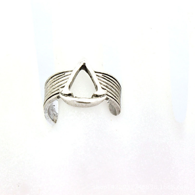 US $1 07 |Assassin's Creed Assassin ring logo flag animation movie Jewelry  Knights Templar-in Rings from Jewelry & Accessories on Aliexpress com |